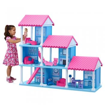 Plastic Dollhouse Dolls
