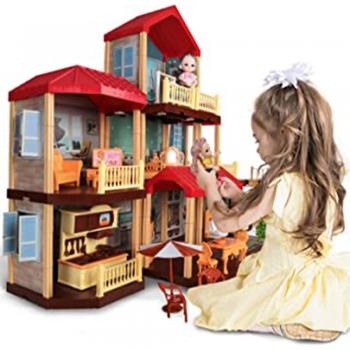 Lighted Dollhouse Dolls