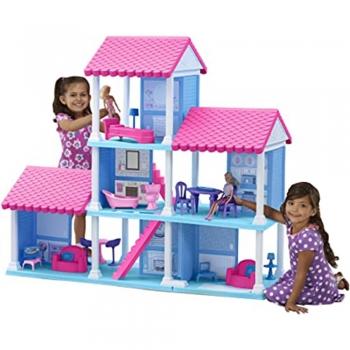 Hard plastic Dollhouse Dolls