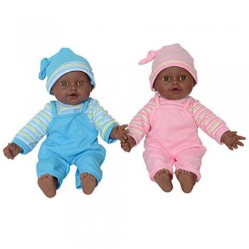 African twin dolls