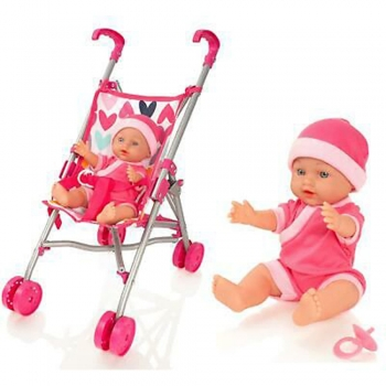 Stroller Set with Baby Doll