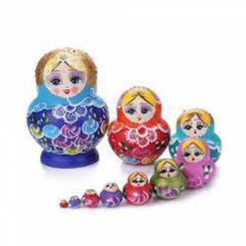 Chines Wooden dolls