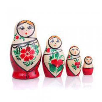 Cultural wooden dolls