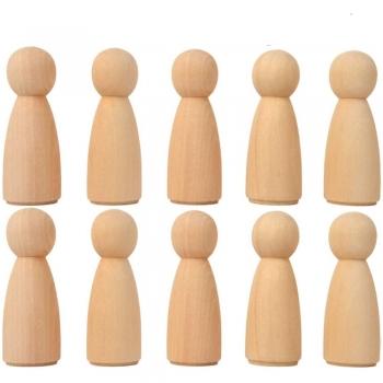 Soft wood Dolls