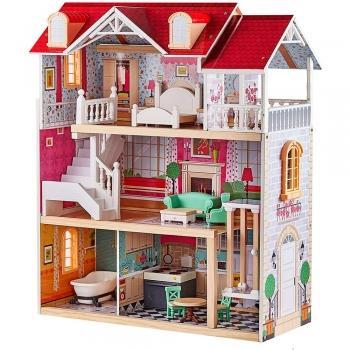 Light weight Wooden doll house