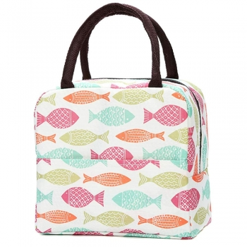 Children tote bag, handbag, with zipper pocket