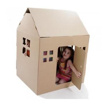 DIY Cardboard play Houses