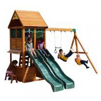 Cardboard Cubby Slide climbs