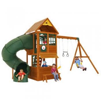 Cardboard Swing slides