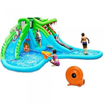 Crocodile Inflatable Pool Set