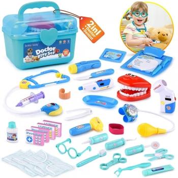 Kids Pretend Play Doctors & Patient Ace bandage