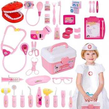 Kids Pretend Play Doctors & Patient Bandages