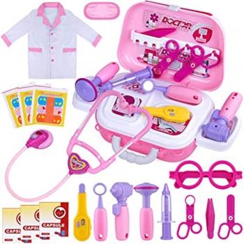 Kids Pretend Play Doctors & Patient craft stick