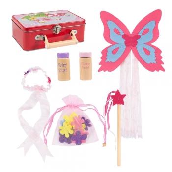 Fairy kids play fairy wings