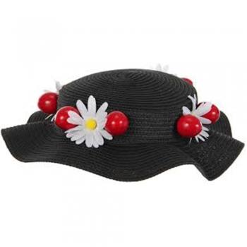 Black Mary Poppins Hats