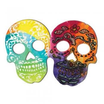 Color diffusing masks
