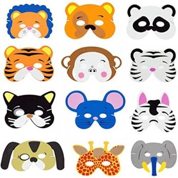 Foam animal mask kit