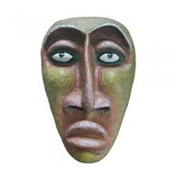 Papers Mache mask