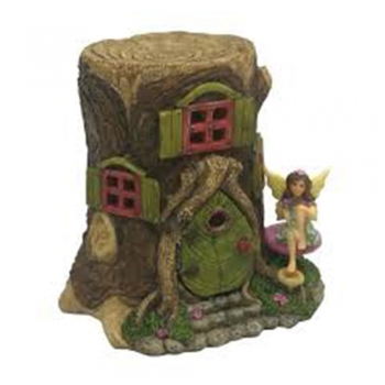 Kids Pretend Play Miniature fairy houses light up, the fairy land