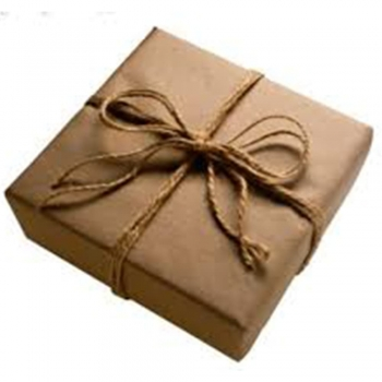 Brown Paper Packages Tied up With Strings