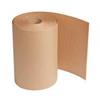 Paper towel roll flute