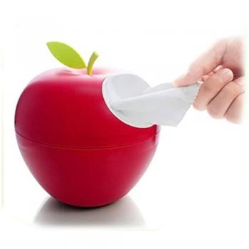 Toilet paper roll apple