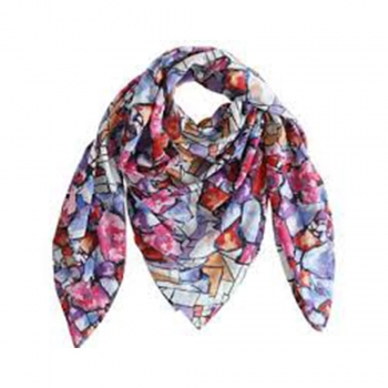 Fall Color Play Scarves