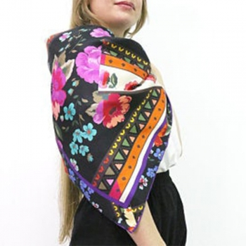 Vintage Bright Play silks scarves