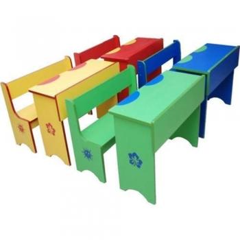 Kids Pretend Play School benches