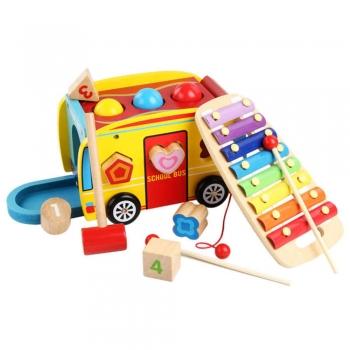 Kids Pretend Play School building blocks