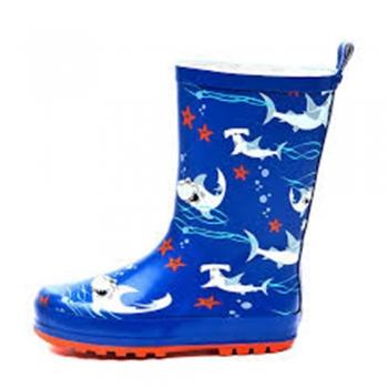 Kids play Rain and Snow Boots
