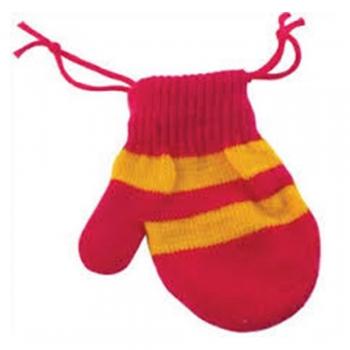 Drawstring bag out of a socks