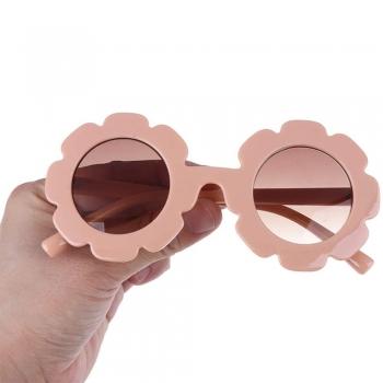 Flower Shape Kids Sunglasses for Girls