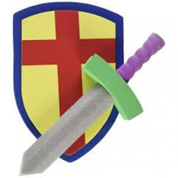Foam Swords and Shields Playset