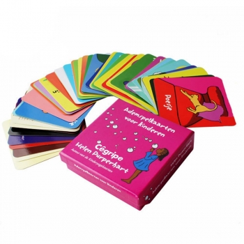 Colorful poker cards