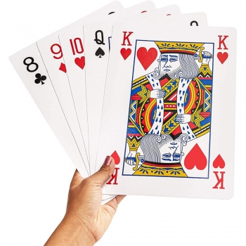 Printed poker cards