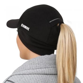 Women running caps