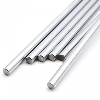 Chrome plated metal bars