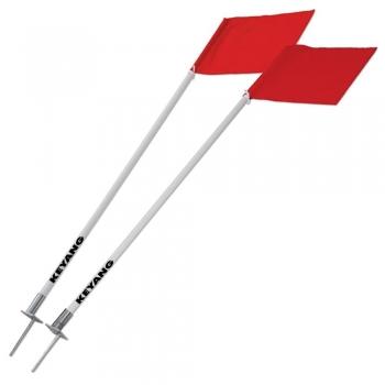 Corner flag pole (fiber)