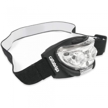Head Torch with red light to save your night vision.