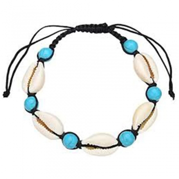 Blue Bead Anklets