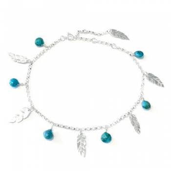 Feather Anklets
