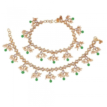 Traditional Gold Anklets