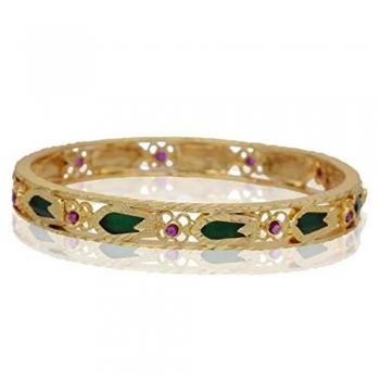 Embellished with precious gems Bangles