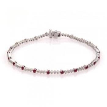 Gemstone and pearl bracelets