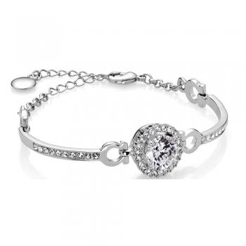 Platinum or Silver Bracelets