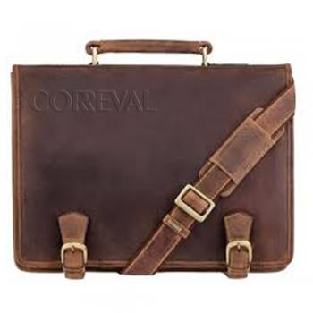 Buckle Strap Briefcase