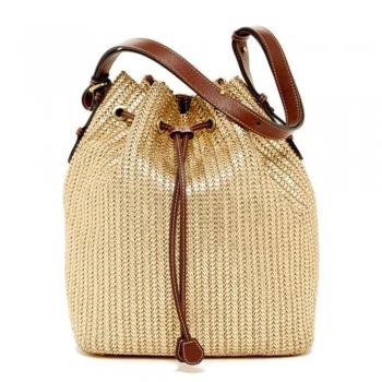 Woven Bucket Bags