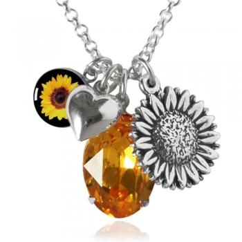 Wild Sunflower Charms