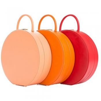 Hat Box Clutch Bags